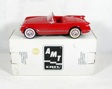 Ertl/AMT 1954 Corvette Convertible Plastic Promo Car #30001. 1/25 Scale