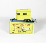 Vintage Matchbox Diecast Replica #43 Pony Trailer With Box. A Lesney Produc