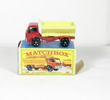 Vintage Matchbox Diecast Replica #70 Grit Spreading Truck With Box. A Lesne