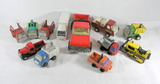 Lot of Used Played with Misc. Diecast Toys. Marx, Buddy-L, Japan, Mattel, a