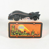 2004 DC Comics Pack 'N Plates Batmobile Hot Wheels