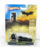 2005 Batman Begins Hot Wheels and Character New in Package