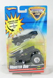 2009 Hot Wheels Monster Jam Duo Batman Car and Monster Truck. New in Packag