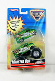 2009 Hot Wheels Monster Jam Duo Udder Madness Car and Monster Truck. New in