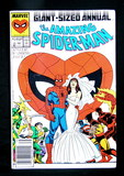 1987 #21B Issue The Amazing Spiderman Giant - Sized Annual Comic Book Speci