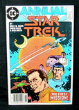 1985 #1 Issue Star Trek Annual Comic Book. Looks to be Near Mint- 9 Conditi