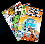 (3) G.I. Joe Comic Books: 1987 the Official GI Joe Handbook Order of Battle
