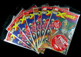 (7) 1991 #1 Issuses of X-Force Comic Books Collectors Issues With Collector