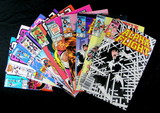 (10) Alpha Flight Comc Books Issuse #s: 3, 5, 8, 10, 12, 20, 27, 32, 36, 50