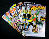 (7) Robin Comic Books Issue #s: 2of 5, 2of 5, 3of5, 4of5, 4of5, 4of5, Robin