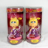 (2) Alexander Global Promotions INC. Disneys Miss Piggy Hand Painted Bobble
