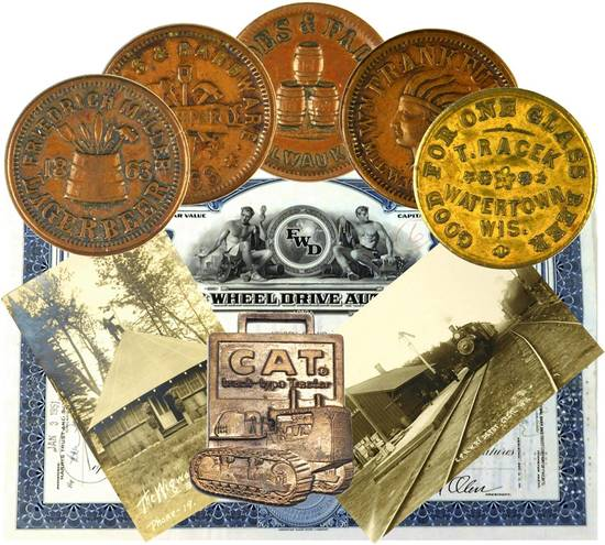 Awesome Civil War Tokens/Currency & Collectibles