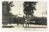 16.  Printed Post Card:  1906 Hunting and Camping on Lake Winnebago, Wis.