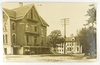 21.  RPPC:  1910 Hotel Grand at Juneau, Wisconsin.  Buffet entrance at lowe