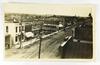 30.  RPPC:  c1908 elevated view of Pulaski, Wisconsin Main Street – Signs I