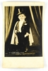 37.  RPPC:  1930's Circus Attraction – Major Mite Age 18 Years – Weight 15