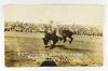 "43.  RPPC:  1921 ""J. H. Strickland, World Champion"" Round-Up Pendleton, Ore"
