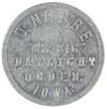 58.  Iowa Aluminum Trade Token:  D. Nebbe / The Big / Daylight / Ogden, / I