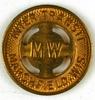 62.  Wisconsin Copper Transportation Token:  Inter Trans Marshfield, Wis. /