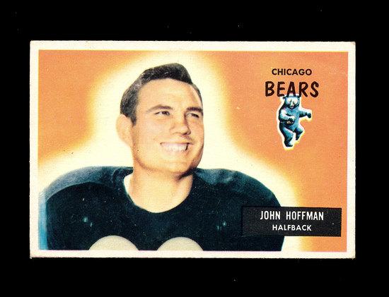 1955 Bowman Football Card #56 John Hoffman Chicago Bears.