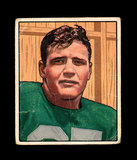 1950 Bowman Football Card #42 Barry French Baltimore Colts.