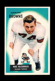1955 Bowman ROOKIE Football Card #2 Rookie Hall of Famer Mike Mc Cormack Cl