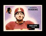 1955 Bowman Football Card #17 Volney Peters Washington Redskins.