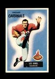 1955 Bowman Football Card #50 Les Gobel Chicago Cardinals.