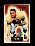 1955 Bowman Football Card #69 Tom Dahms Los Angeles Rams. Has a Wrong Back