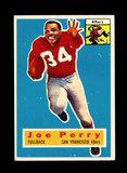 1956 Topps Football Card #110 Hall of Famer Joe Perry San Francisco 49ers.