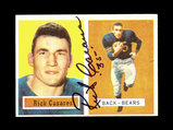 1957 Topps AUTOGRAPHED Football Card Signed By: #55 Rick Casares Chicago Be