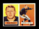 1957 Topps Football Card #96 Hall of Famer Stan Jones Chicago Bears.