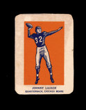 1952 Wheaties Cereal Hand Cut Sports Card Johnny Lujack Chicago Bears.