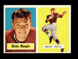 1957 Topps Football Card #116 Dicky Moegle San Francisco 49ers.