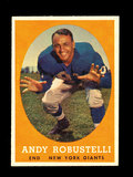 1958 Topps Football Cards #15 Hall of Famer Andy Robustelli New York Giants