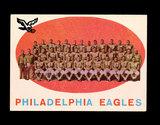 1959 Topps Football Card #31 Philadelphia Eagles Team/Checklist First Serie