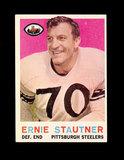 1959 Topps Football Card #69 Hall of Famer Ernie Stautner Pittsburgh Steele