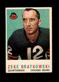 1959 Topps Football Card #90 Zeke Bratkowski Chicago Bears.