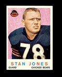 1959 Topps Football Card #96 Hall of Famer Stan Jones Chicago Bears.