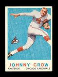 1959 Topps ROOKIE Football Card #105 Rookie John David Crow Chicago Bears.