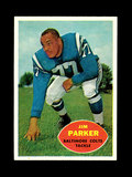 1960 Topps Football Card #5 Hall of Famer Jim Parker Baltimore Colts.