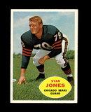 1960 Topps Football Card #17 Hall of Famer Stan Jones Chicago Bears.