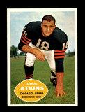 1960 Topps Football Card #20 Hall of Famer Doug Atkins Chicago Bears.