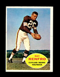 1960 Topps Football Card #26 Ray Renfro Cleveland Browns.
