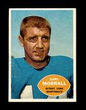 1960 Topps Football Card #41 Earl Morrall Detroit Lions.