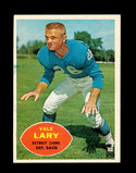 1960 Topps Football Card #48 Hall of Famer Yale Lary Detroit Lions.