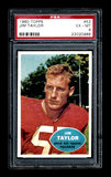 1960 Topps Football Card #52 Hall of Famer Jim Taylor Green Bay Packers. Th