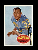 1960 Topps Football Card #63 Hall of Famer Ollie Matson Los Angeles Rams.
