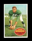 1960 Topps Football Card #87 Hall of Famer Chuck Bednarick Philadelphia Eag
