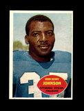 1960 Topps Football Card #94 Hall of Famer John Johnson Pittsburgh Steelers